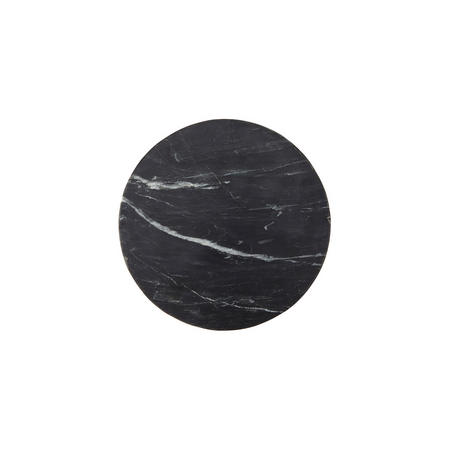 Design Project by John Lewis No.177 Marble 30cm Plate, Black