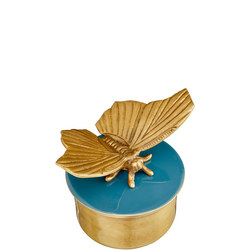 John Lewis Butterfly Round Trinket Box