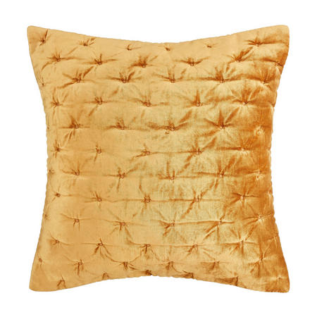 Velvet Stitch Cushion Cover Tiger's Eye