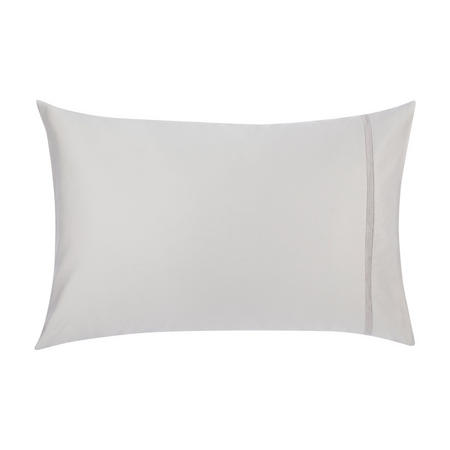 Soft and Silky Garda Lattice Stitch Egyptian Cotton 400 Thread Standard Pillowcase Cool