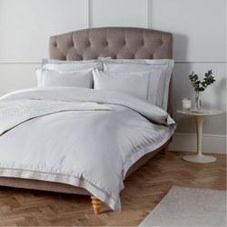 Soft and Silky Garda Lattice Stitch Egyptian Cotton 400 Thread Oxford Pillowcase Cool Gr