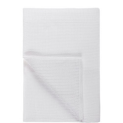 Waffle Bedspread L280 x W230 White