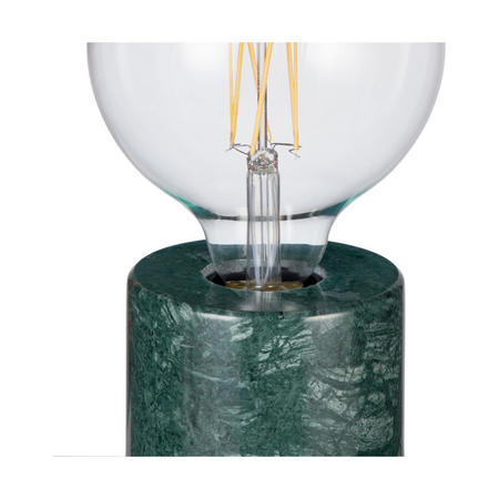 Design Project by John Lewis No.163 Marble Bulbholder Table Lamp, Green