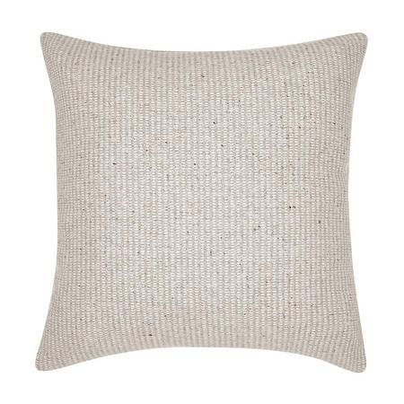 Croft Collection Mini Weave Cushion Blue/Grey
