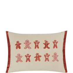 John Lewis Christmas Gingerbread Cushion