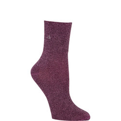 Glitter Ankle Socks