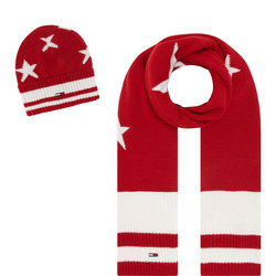 Star Scarf And Hat Set