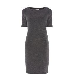 Metallic Pencil Dress