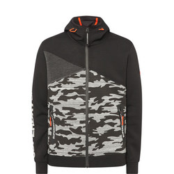 Camouflage Gym Tech Splice Hoody
