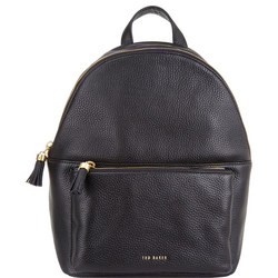 Molly Leather Tassel Backpack