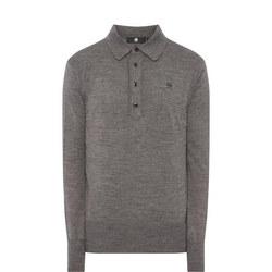 Wool Polo Sweater