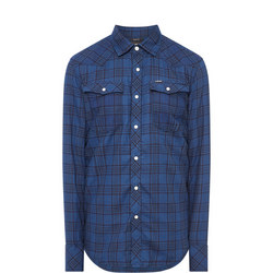Two-Pocket Checked Shirt