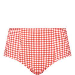Capri Gingham Bikini Briefs