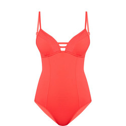 Quilted Cup Swimsuit