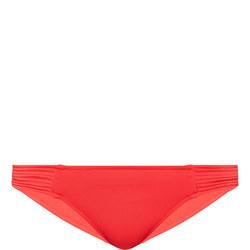 Quilted Hip Bikini Briefs