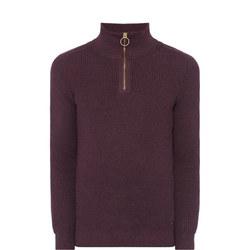 Half-Zip Krull Pullover