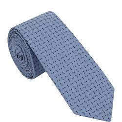 Square Dots Silk Tie