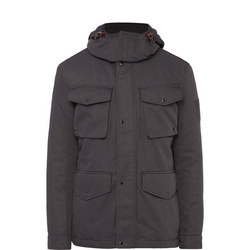 Swiss Stand Up Collar Jacket