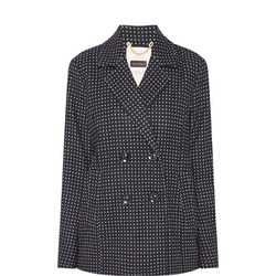 Marianne Check Short Jacket
