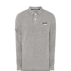 Pique Long Sleeve Polo-Shirt