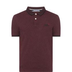 Classic Jacquard Jersey Polo Shirt