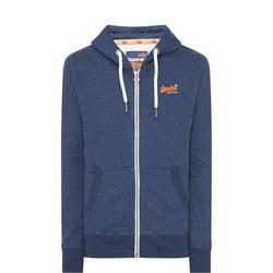 Orange Label Zip Hoody