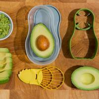 Kitchen Hacks Prep 'n' Store Avocado Set