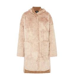 Reversible Hooded Coat