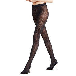 Fan Lace 40 Denier Tights