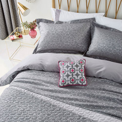 Josie Duvet Cover Charcoal