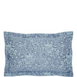 Sylvie Oxford Pillowcase Blue