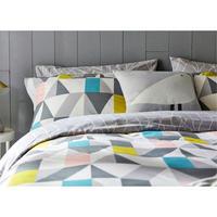 Nuevo Standard Pillowcase Blush-Charcoal