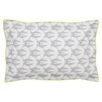 Pajaro Oxford Pillowcase Steel