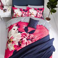 Bircham Bloom Duvet Cover Raspberry