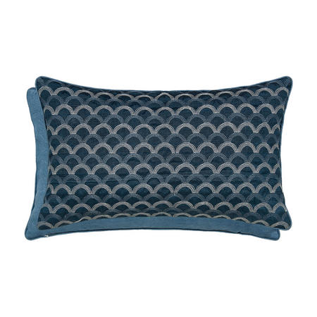 Soller Cushion Prussian Blue