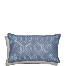 Amara Cushion Prussian Blue