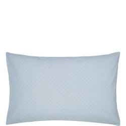 Chinese Bluebird Standard Pillowcase Aqua