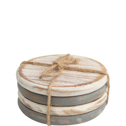 Drift Set of Four Round Coasters