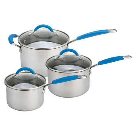 Joe Wicks Quick & Even Stainless Steel 3 Piece Lets Get Started Set