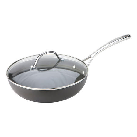 Joe Wicks High Intensity Non-Stick Hard Anodized All Rounder Pan with Lid