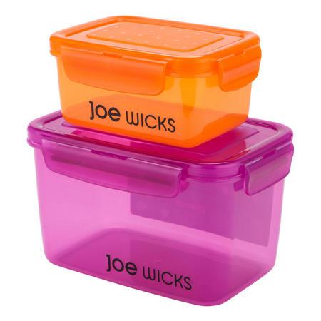 Joe Wicks 2 Piece Rectangular Container Set