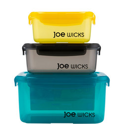 Joe Wicks 3 Piece Rectangular Container Set