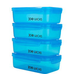 Joe Wicks Four-Piece Rectangular Container Set