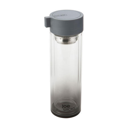 Joe Wicks Crystal Glass Water Bottle