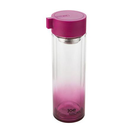 Joe Wicks Crystal Glass Water Bottle