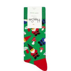 Christmas Gnome Socks