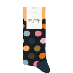 Spot Print Socks