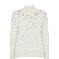 Beaded Sweater