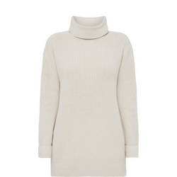 Pullover High Neck Top
