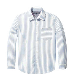 Relaxed Oxford Stripe Shirt